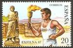 Stamps Europe - Spain -  2917 - Exposición filatelica nacional, Exfilna 87
