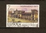 Sellos de Europa - España -  Palacio gubernamental