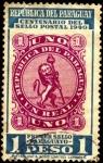Sellos de America - Paraguay -  Centenario del primer sello postal del Paraguay.