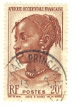 Stamps Africa - Mauritania -  Joven chica ivoriana