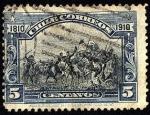 Stamps America - Chile -  100 años de la Independencia de Chile. Batalla de MAIPO.
