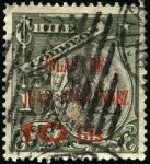 Stamps Chile -  Cristóbal Colón. Sobreimpreso ISLAS DE JUAN FERNÁNDEZ 1910. Sobretasa 10 Centavos.