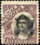 Stamps America - Chile -  Cristóbal Colón..
