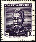Sellos de America - Chile -  Presidente Francisco Antonio PINTO.