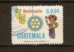 Sellos del Mundo : America : Guatemala :  Rotarios