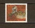 Stamps El Salvador -  Diego de Olguín