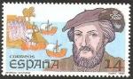 Stamps Europe - Spain -  2919 -  V Centº del descubrimiento de América, Américo Vespucio