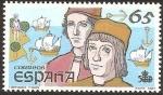 Stamps : Europe : Spain :  2924 - V Centº del descubrimiento de América, Hermanos Pinzón