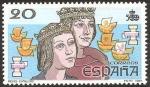 Stamps : Europe : Spain :  2920 - V centº del descubrimiento de América, Los Reyes Católicos