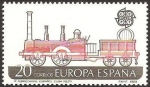 Stamps of the world : Spain :  2949 - europa cept, primer ferrocarril español en cuba