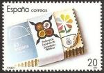 Stamps Spain -  2962 - XXV anivº de la federación española de sociedades filatélicas FESOFI