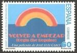 Stamps : Europe : Spain :  3337 - Volver a empezar, película española