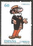 Stamps Europe - Spain -  3360 - Carpanta, personaje de tebeo