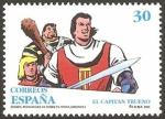 Stamps Europe - Spain -  3359 - El Capitán Trueno, personaje de tebeo
