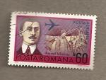 Stamps Romania -  Aurel Vlacu, pionero aviación