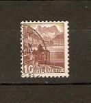 Sellos de Europa - Suiza -  Castillo de Chillon