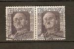 Stamps Spain -  Gral. Franco