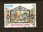 Sellos de America - Perú -  Navidad