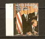 Sellos de America - Panamá -  Firma tratado