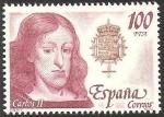 Stamps : Europe : Spain :  2556 - Rey de España, Casa de Austria, Carlos II