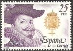 Stamps : Europe : Spain :  2554 - Rey de España, Casa de Austria, Felipe III