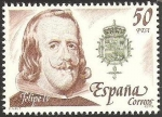 Stamps : Europe : Spain :  2555 - Rey de España, Casa de Austria, Felipe IV