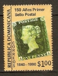 Stamps America - Dominican Republic -  Sello postal