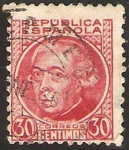 Stamps Spain -  687 - Gaspar Melchor de Jovellanos