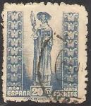 Sellos de Europa - España -  961 - Año Santo Compostelano, El Apóstol