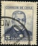 Sellos de America - Chile -  Presidente Manuel Montt Torres.