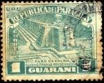 Stamps America - Paraguay -  Faro de Colón, ciudad de Trujillo República Dominicana.