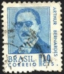 Stamps Brazil -  Presidente ARTUR BERNARDES.