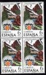 Stamps Spain -  1976 B4 Centenario Centro Excursionista de Cataluña Edifil 2307