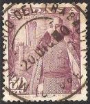 Stamps Spain -  1029 - franco y el castillo de la mota