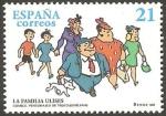 Stamps Europe - Spain -  3486 - La Familia Ulises, personajes de tebeo