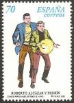 Stamps Europe - Spain -  3713 - Roberto Alcázar y Pedrín, personajes de tebeo