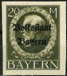 Stamps Germany -  Luis III - Baviera