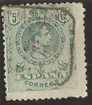 Stamps Spain -  268 - Alfonso XIII