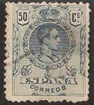 Sellos de Europa - España -  277 - Alfonso XIII