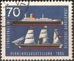 Stamps Germany -  Exposicion Internacional de Transporte