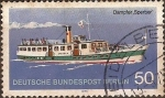 Stamps Germany -  Barcos de crucero fluvial Berlineses