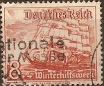 Stamps Germany -  Secourts d´hiver