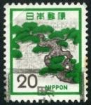 Sellos de Asia - Japón -  Bonsai