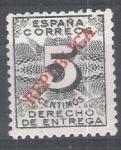 Stamps Europe - Spain -  Derecho de entrega (Barcelona )