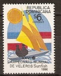 Sellos de America - Rep Dominicana -  Veleros