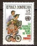 Sellos de America - Rep Dominicana -  No a las drogas