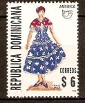 Stamps America - Dominican Republic -  Trajes típicos