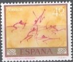 Stamps Spain -  1779 Homenaje al pintor desconocido. Cueva de Morella