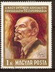Sellos de Europa - Hungría -  Revolución de Octubre
