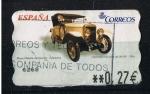 Sellos de Europa - España -  AMTS Museo Historia Automocion   Salamanca  Hispano Suiza 20 - 30 HP  1910
